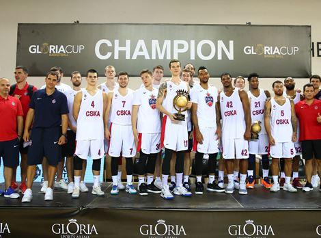 GLORIA CUP BASKETBOL ŞAMPİYONU CSKA MOSKOVA